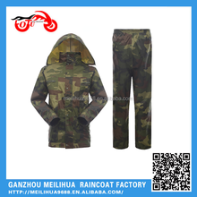 Best quality police military raincoat poncho