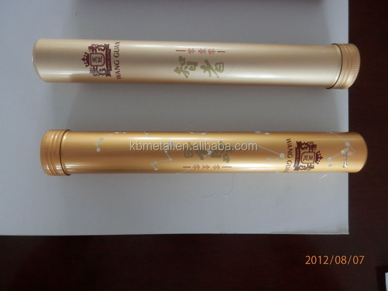 aluminum tube for cigars romeo juliet