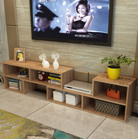 2017 Living Room Designs K/D Modern Tv Stand wooden Wall Units Tv Cabinet for wholesale