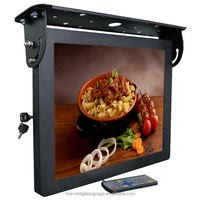 17 inch Bus LCD Video Player,hot selling bus ad display