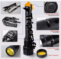 Hot 50w Rechargeable Xenon Cheap 50W HID FLASHLIGHT,Tactical HID Xenon Flashlight Torch 4800lm hunting,sos,outdoor work