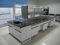 Chinese supplier customized lab furniture / strong resistant chemical board steel lab countertop