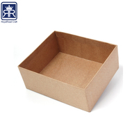 18010301 Offset Printing Surface Handling and Accept Custom Order Brown kraft biscuit paper box for tea