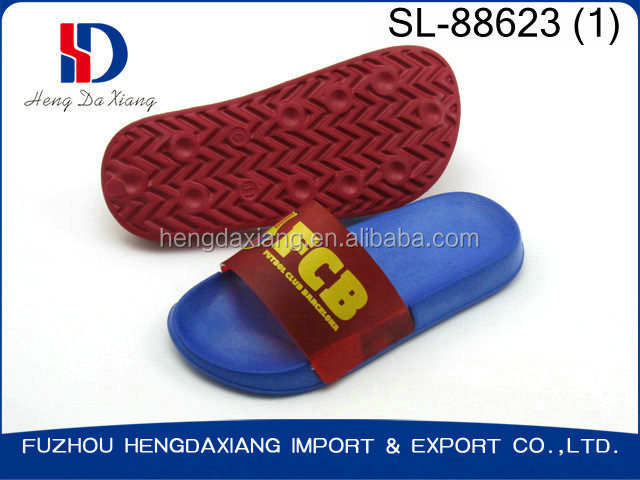 new best EVA FCB LOGO kids slipper