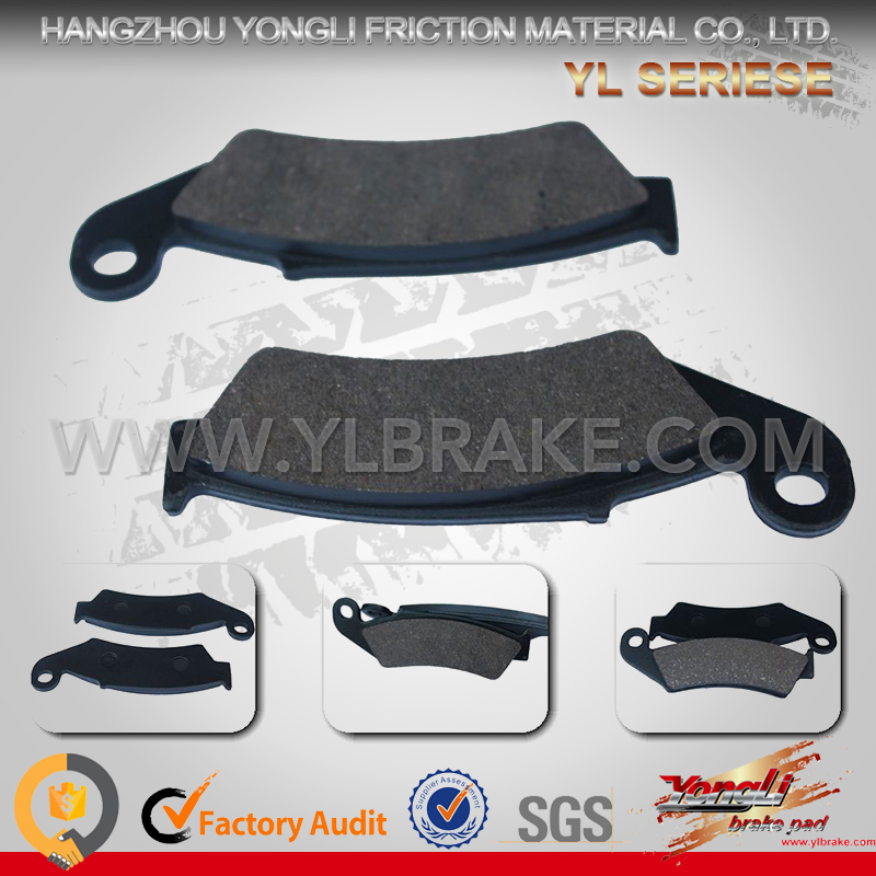 China Supplier Factory Provide Directly Brake Pads Korean Motorcycle Parts