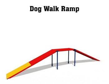 dog agility Equipment: Dog Walk Ramp