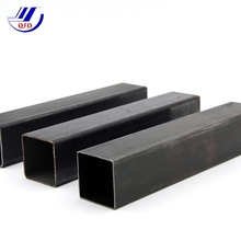 Black annealed bright finish square tube, thin wall rectangular seamless steel pipe
