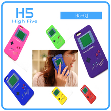 Tetris Game machine Soft Silicone Rubber phone Cases for iphone 7 4S 5S SE 6 6S 7 plus