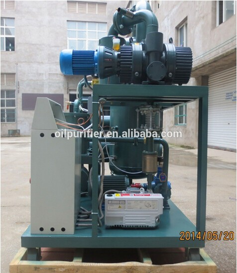China new High Vacuum transformer oil filtration machine,oil cleaning machine, waste oil recycle machine for sale
