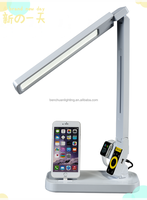 Zhongshan new generation multifunctional iPhone/apple watch led desk light for reading/working with stepless dimming/USB port