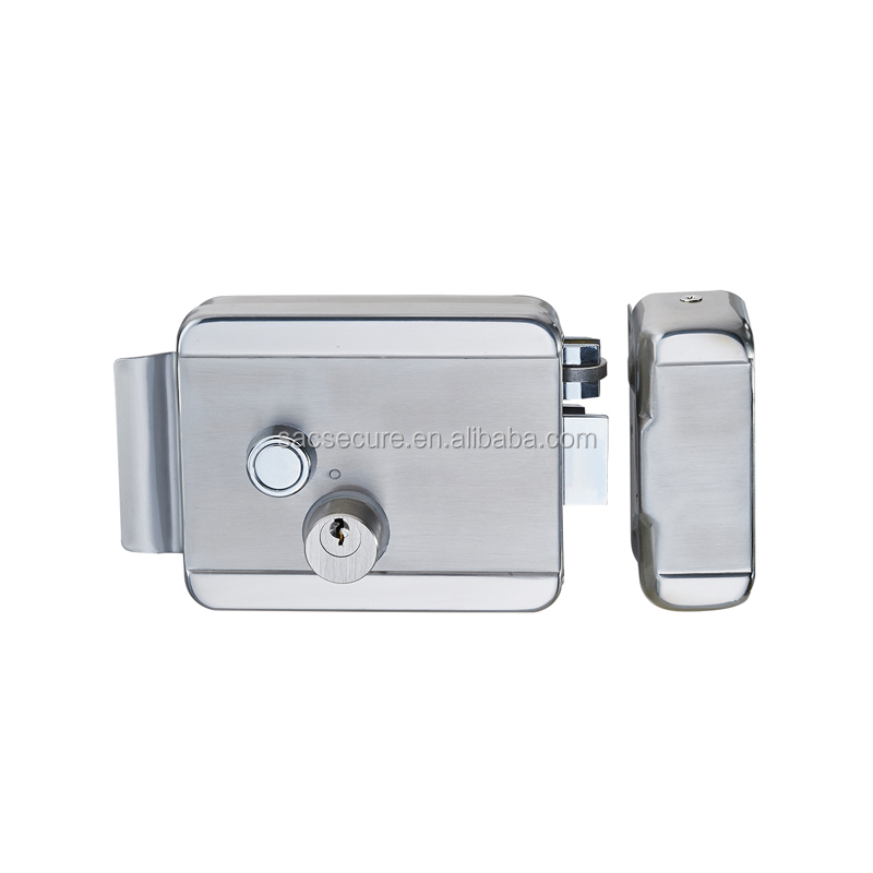 Swipe door electric lock electric rim lock SAC-RJ102B