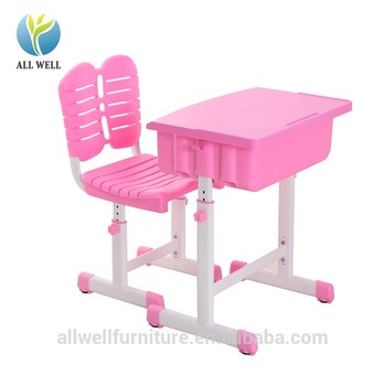 Top quality ABS plastic school children study desk table