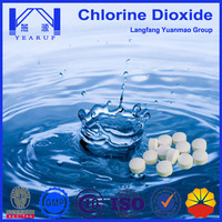Water Tank Cleaning Chemical Chlorine Dioxide Tablet for Drinking Water Purification