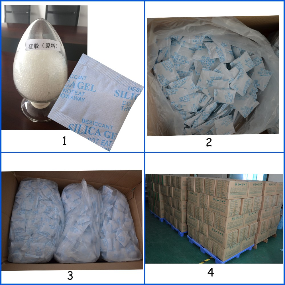Free Sample Top One Dry Sundry Food Grade Silica Gel Desiccant