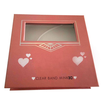 best rated handmade natural looking 3D mink fur eyelash boxes with cheapest price