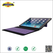 Separable Wireless Keyboard With Stand Function tablet Leather Case for ipad