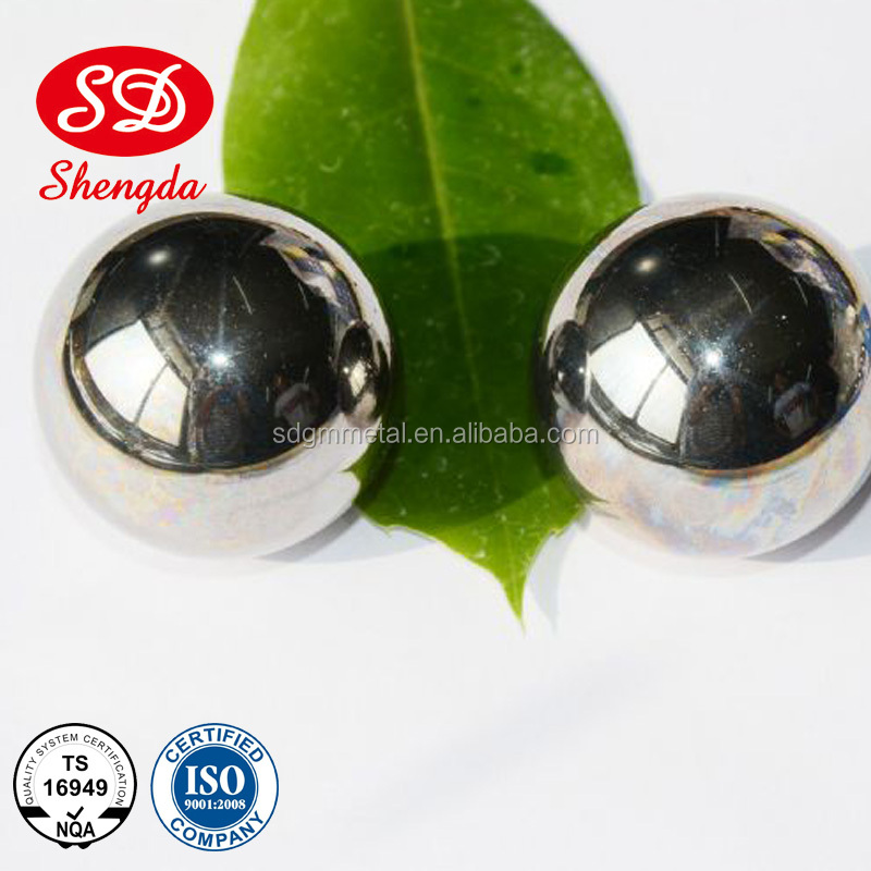 G100 AISI304 1/4inch large stainless steel ball /sculpture for factory price