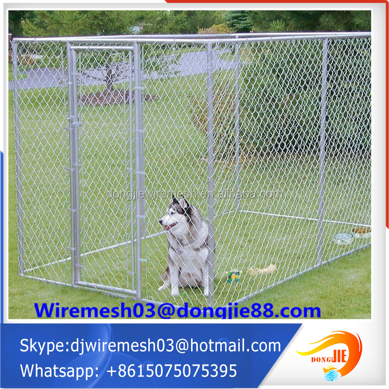 Stainless steel dog kennels cage supplier