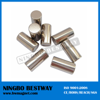 Quick delivery strong magnetic rare earth custom neo N48 china neodymium cylinder strong magnets generators for sale
