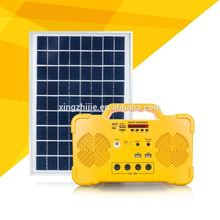 best seller 10W poly/mono balcony hanging solar power system with 5m cable