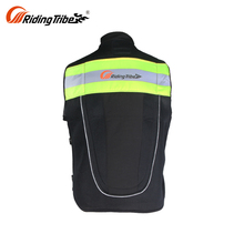 Black Best Waterproof Most Protective Mesh Padded Vintage Airbag Textile Motorcycle Jacket