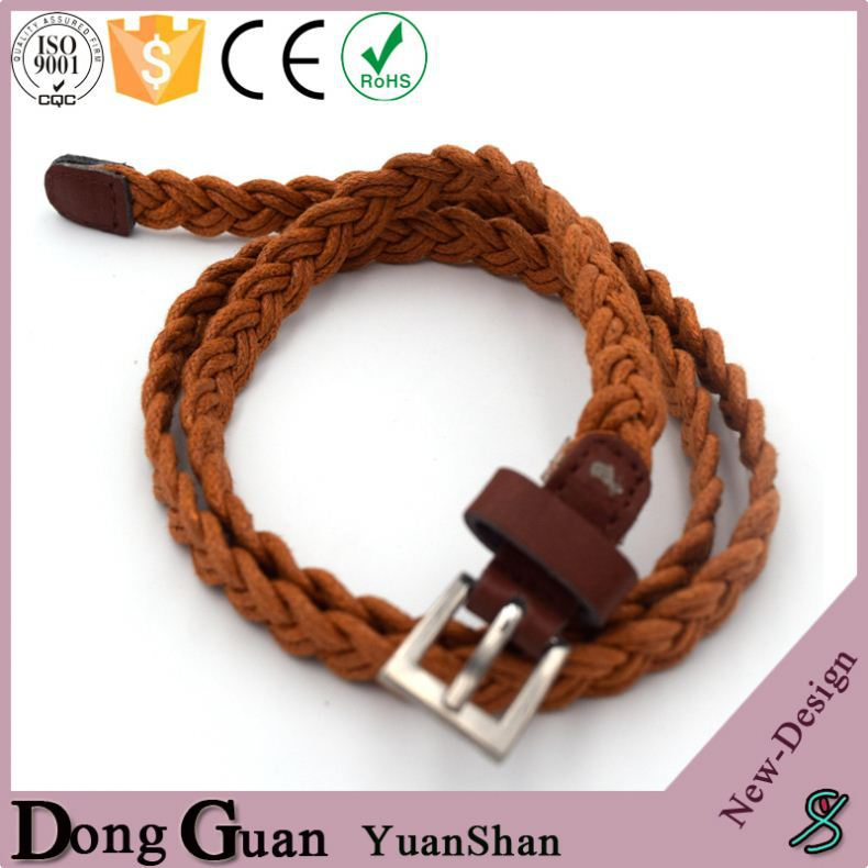 2016 hot sale kids chastity belt matte buckle elastic double side cow leather belts
