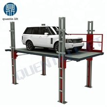 Hydraulic rail-type 4 post car lift for sales