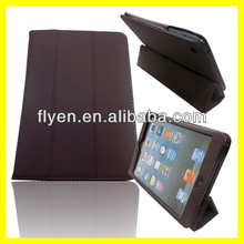 High Quality Tri-Fold Ultra Thin PU Leather Smart Cover Case For Apple iPad1/2Mini
