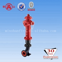 Cast iron ground fire hydrant with flange for sale