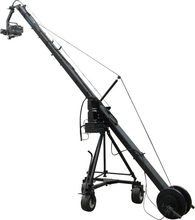 triangle jimmy jib camera crane include motorized remote control head