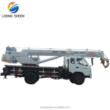 new condition swing arm lift crane 10 ton truck type cranes LXQY-10