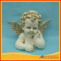 Unique resin cupid bronze statue