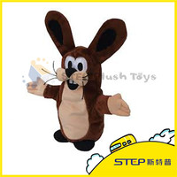 2016 New Style Excellent Quality Cute Animal Hand Puppet Plush Toy