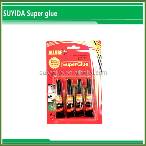 High Quality Super Glue in plastic bottle granite stone glue leather furniture glue