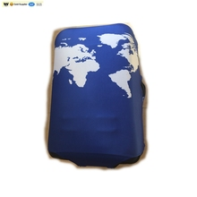 Custom Logo And Material Polyester Plastic Protective Luggage Cover