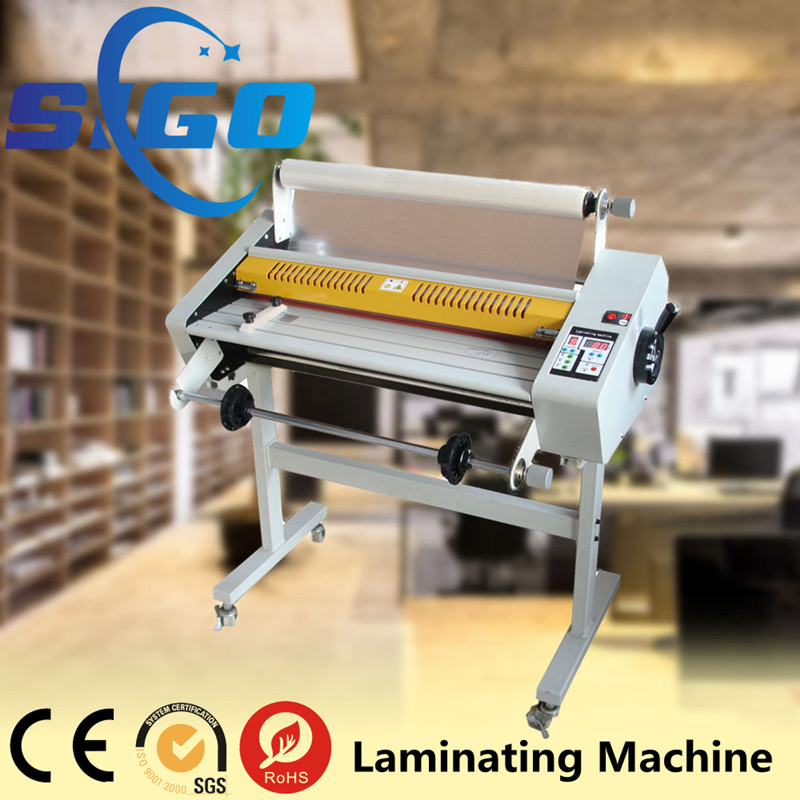 New automatic office hot cold laminator SG650