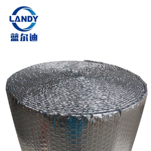 Anti uv static air bubble sheet aluminum glare foil wrap heat material double bubble foi thermal break insulation material
