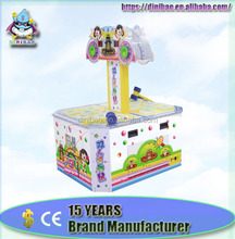 Hammer Hitting Redemption Arcade Game Machine two players hitting mouse coin operated Hammer Game Machine