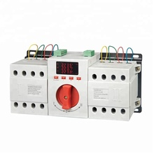Hot Sale 63A LED display dual power automatic transfer switch