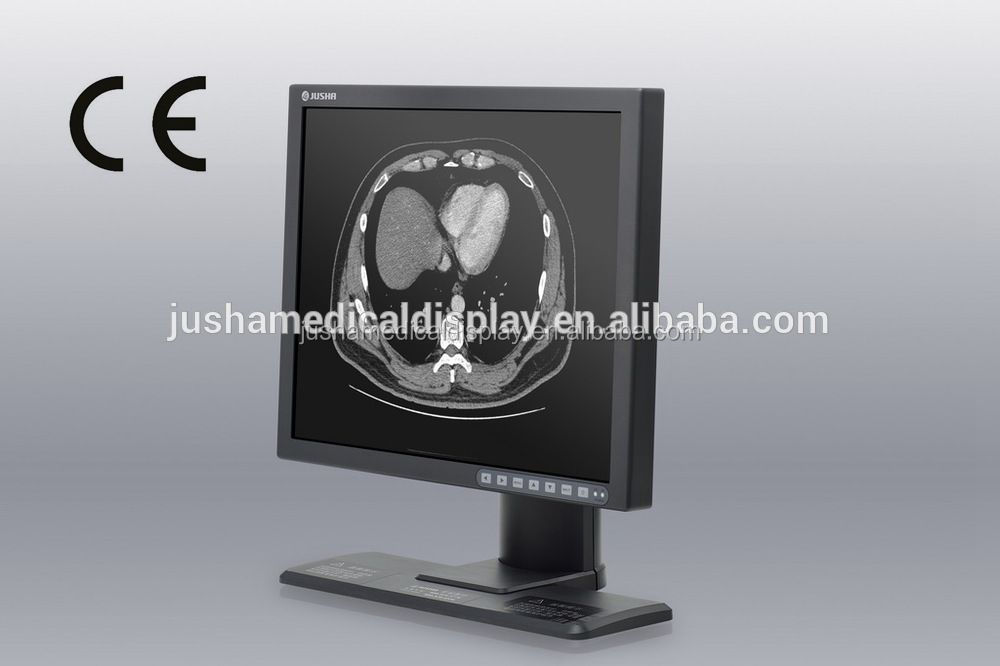 19-inch 1Mp 1280x1024 LCD screen monochrome monitor for siemens mri,CE
