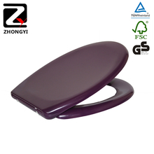 High hardness purple urea formalaehyde toilet seat