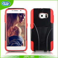Alibaba wholesale hard plastic shock proof cell phone case cover for Samsung S6