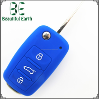 Durable Colorful China Supplier Silicone Rubber Car Key Covers for Volkswagen