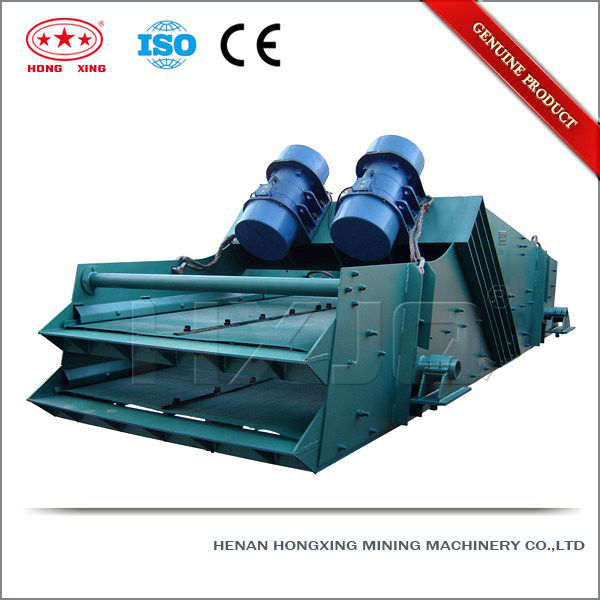 China fantastic nonstop cement linear vibrating screen