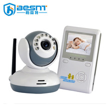 Two way audio 2.4inches Wireless Vedio Baby Monitor IR sd card camera kit BS-W240