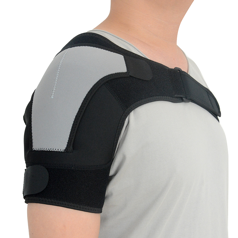 <strong>Health</strong> Care Adjustable sport Neoprene single shoulder brace for pain relief
