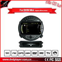 GPS Navigation WIN CE 6.0 1080P Car Stereo CD DVD Player Bluetooth Auto Radio Map SD Card FOR BMW MINI