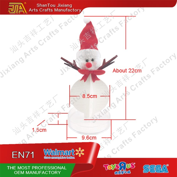 The magic of Christmas decoration for magic snowman