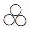 OEM customized silicone rubber washer/o-ring,Black Rubber washer o-ring