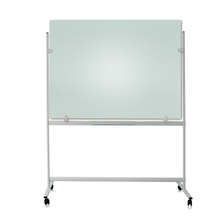 Mobile Glass board mobile stand standard size whiteboard glass white board with stand particle board H stand